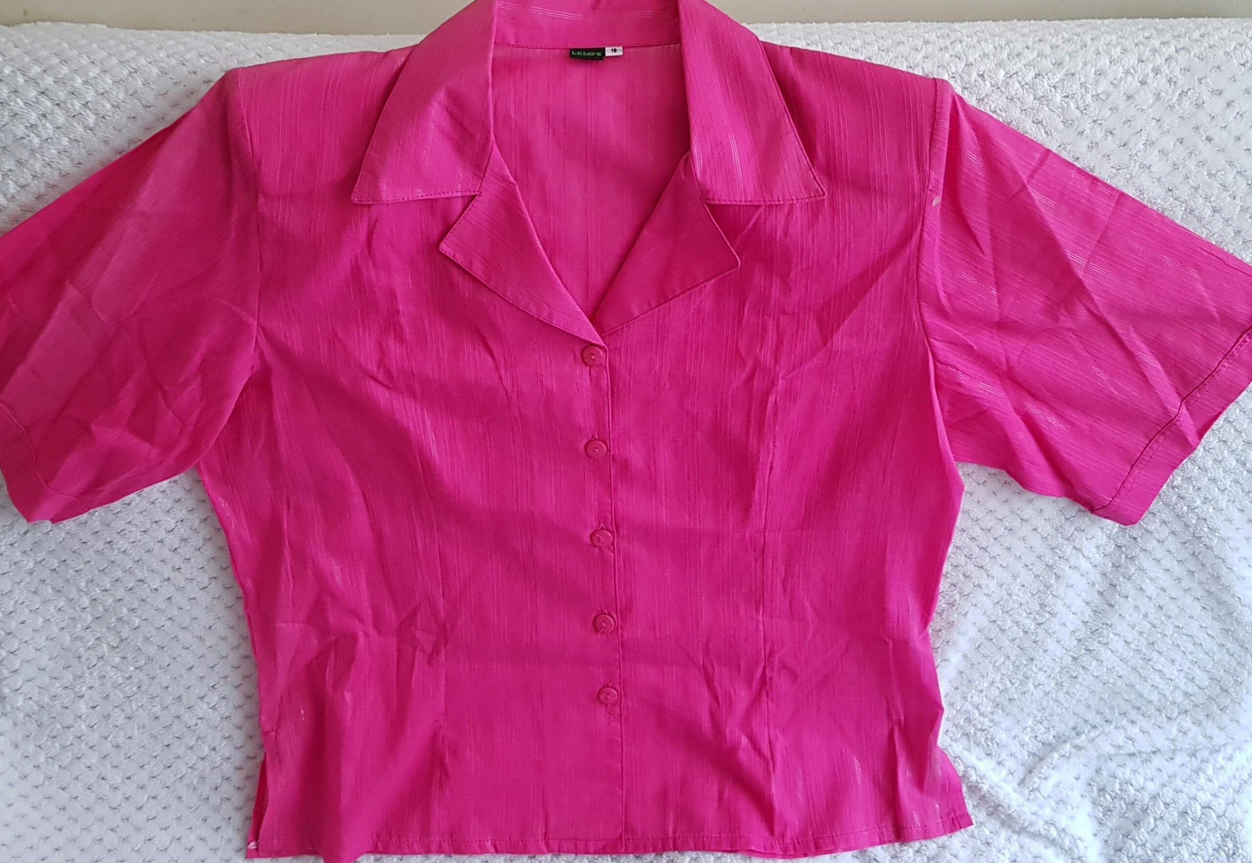 Blusas Unicolor Morada o Rosada