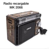 Radio Recargable