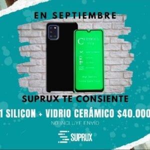 Promosicion silicon +vidrio
